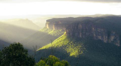 藍山國家公園的鐵砧石(Anvil Rock)