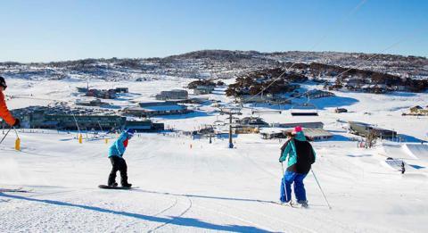 科修斯科山國家公園(Kosciuszko National Park)派瑞雪滑雪度假村(Perisher Range Ski Resort)