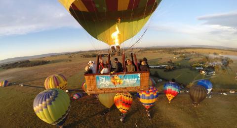 澳洲樂浮熱氣球公司(Balloon Aloft)