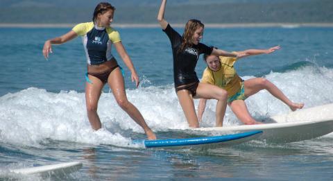 Surf Camp Australia 滑浪營