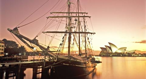 Sydney Harbour Tall Ships 郵輪公司