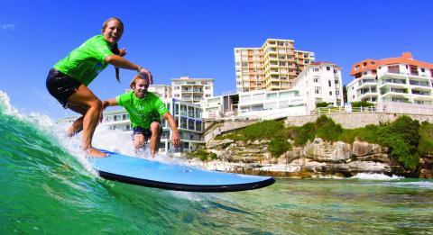 Lets Go Surfing 邦迪滑浪學校