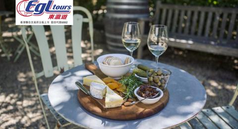 Wine and cheese board available from Krinklewood Biodynamic Winery, Broke in the Hunter Valley