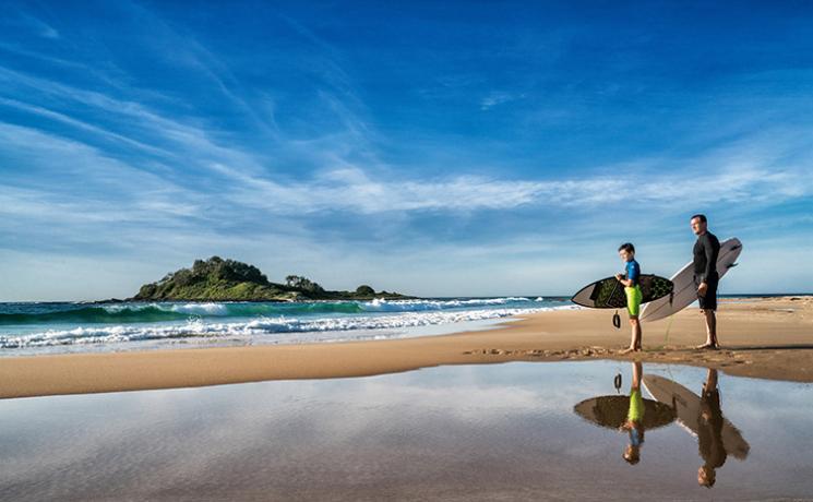 發掘新南威爾士南岸的世界級滑浪海灘