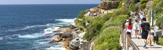 邦迪至庫吉海岸步道(Bondi to Coogee Coastal Walk)