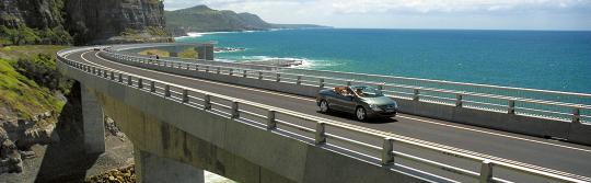 悉尼至墨爾本道路海崖大橋