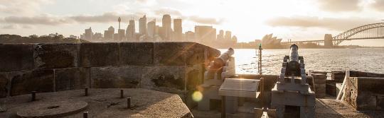 悉尼海港國家公園丹尼森堡(Fort Denison)