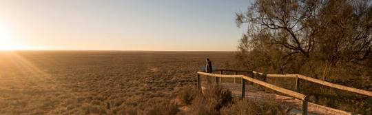 新南威爾士內陸國家公園的蒙哥瞭望台