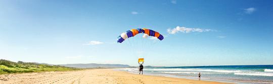 臥龍崗(Wollongong)高空跳傘