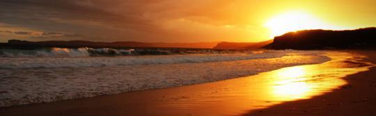 波第國家公園(Bouddi National Park),普蒂海灘(Putty Beach)營地的景色