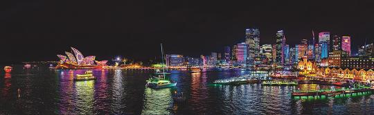 2015 年繽紛悉尼燈光音樂節