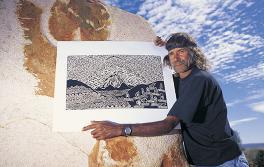 新南威爾士內陸的原住民藝術家