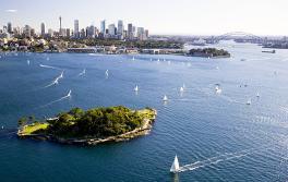 悉尼海港國家公園克拉克島