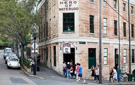 岩石區滑鐵盧英雄(Hero of Waterloo)酒吧