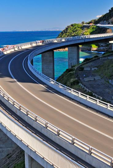 Sea Cliff Bridge, Wollongong